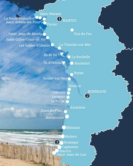 20eb21ec71 Atlantikküste Frankreich - Perfekte Ferien am Meer