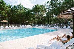 Campingplatz Euronat an der französischen Atlantikküste