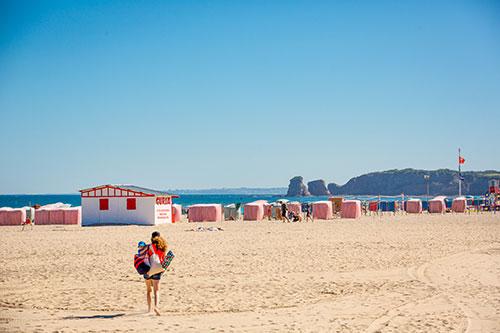 Der Strand von Hendaye