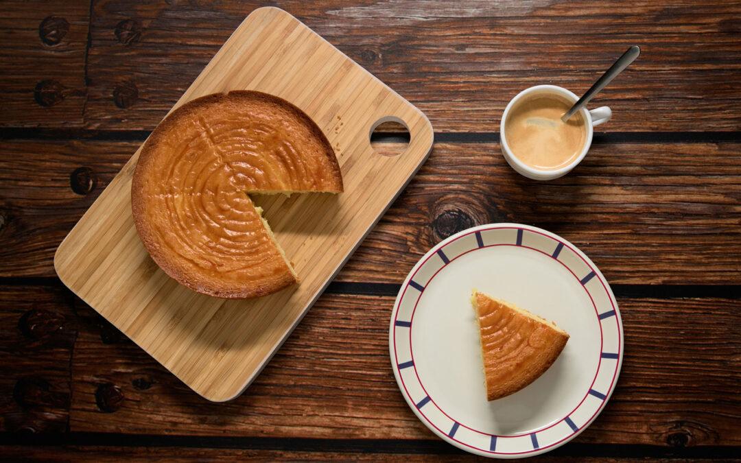 Baskischer Kuchen (gâteau basque)