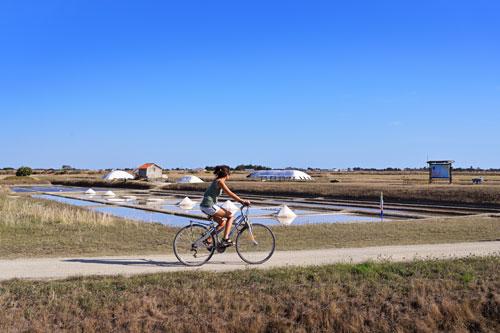 Die Ile de Noirmoutier ist ein Paradies für Radfahrer.