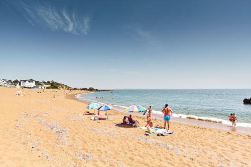 Der Strand Plage de Monsieur Hulot in Saint-Nazaire