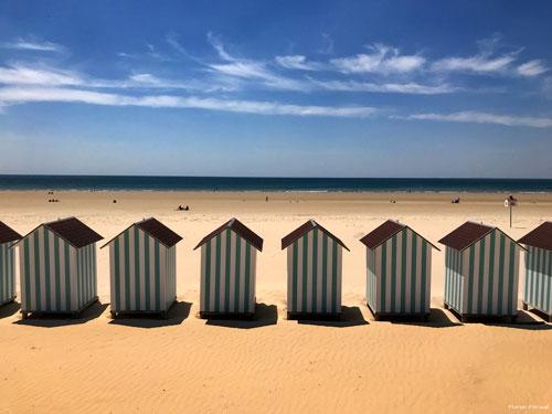 Der Strand von Saint-Jean-de-Monts