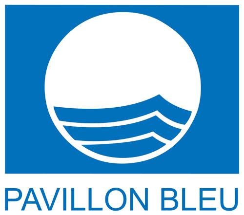 Das Logo des Umweltsiegels Pavillon Bleu