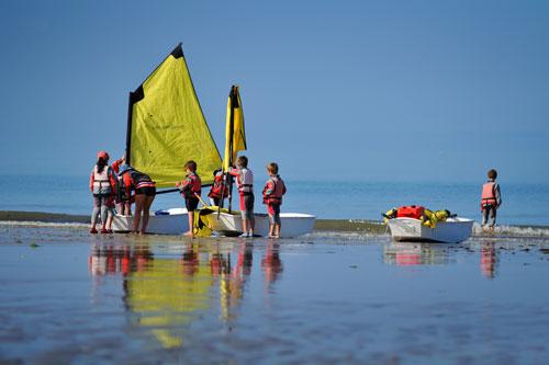 Wassersport auf der Ile de Noirmoutier