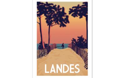 Stylische Poster und Accessoires von der Atlantikküste: Design made in Hossegor