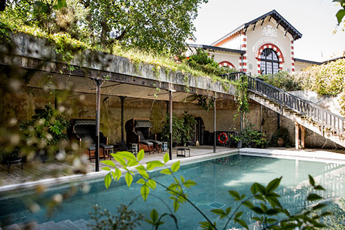 Das Hotel Ville d'Hiver in Arcachon
