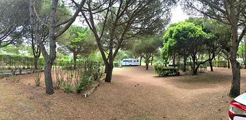 Camping Le Saint-Martin in Moliets-Plage