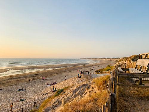 Der Strand von Le Gurp